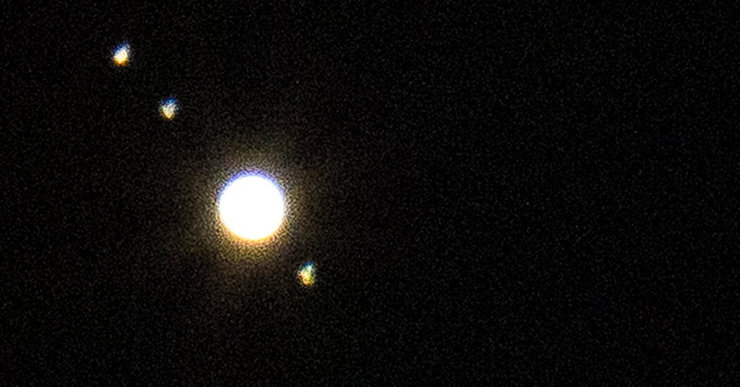 Christmas Star 2020: The 'Great' Saturn and Jupiter Conjunction