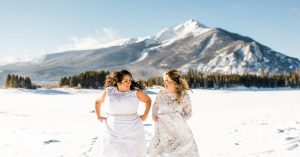 Warm Hearts at an Icy Elopement