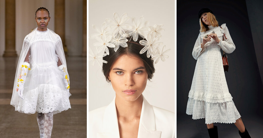 Out-of-the-Box Bridal Fashion Inspiration - The New York Times