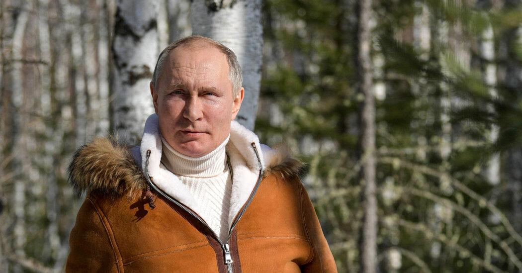 The Art of the Vladimir Putin Photo Shoot