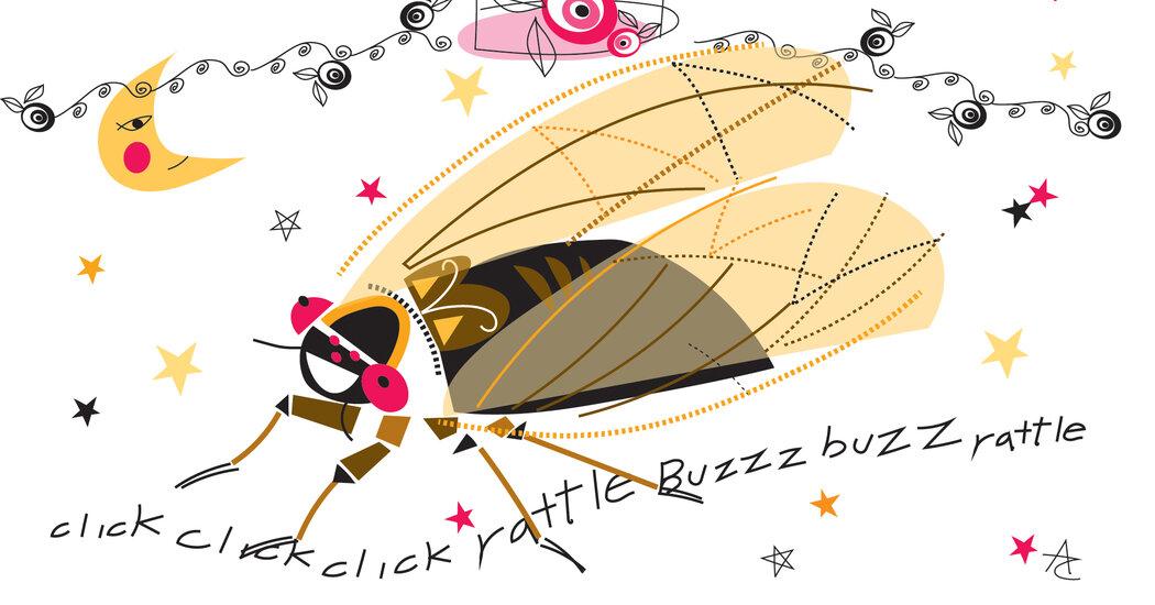 This Season's Wedding Crashers: Cicadas