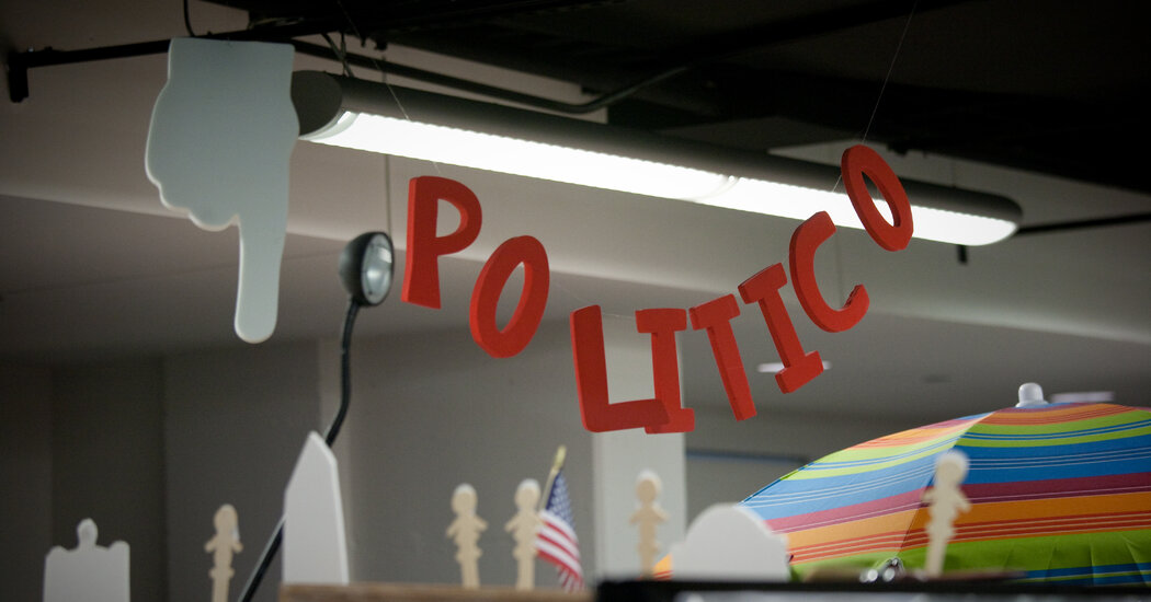 Politico Is Looking for a $1 Billion Deal with Axel Springer