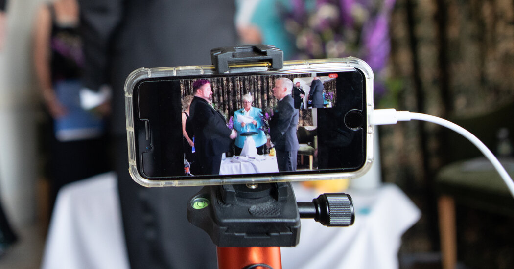Are Virtual Weddings Over? - The New York Times