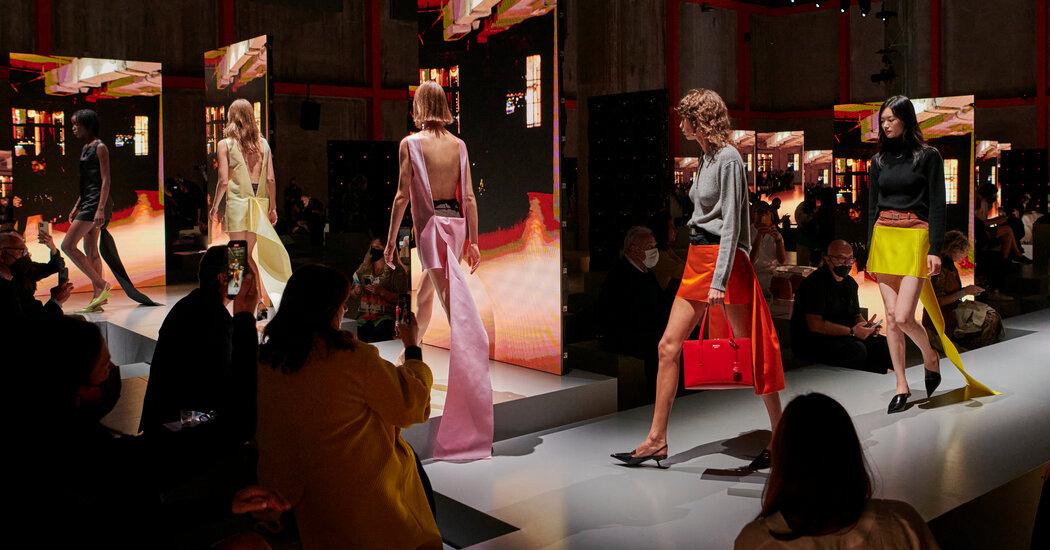Milan Fashion Week: Prada and Versace Get Sexy
