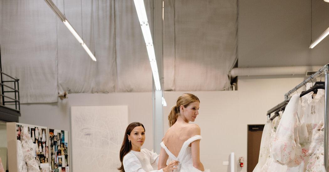 Inside Monique Lhuillier's Design Process
